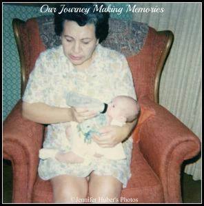 Grandma and me 1966 ps copyright