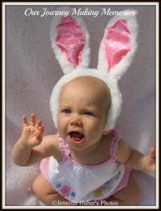 Hello Easter Bunny watermark